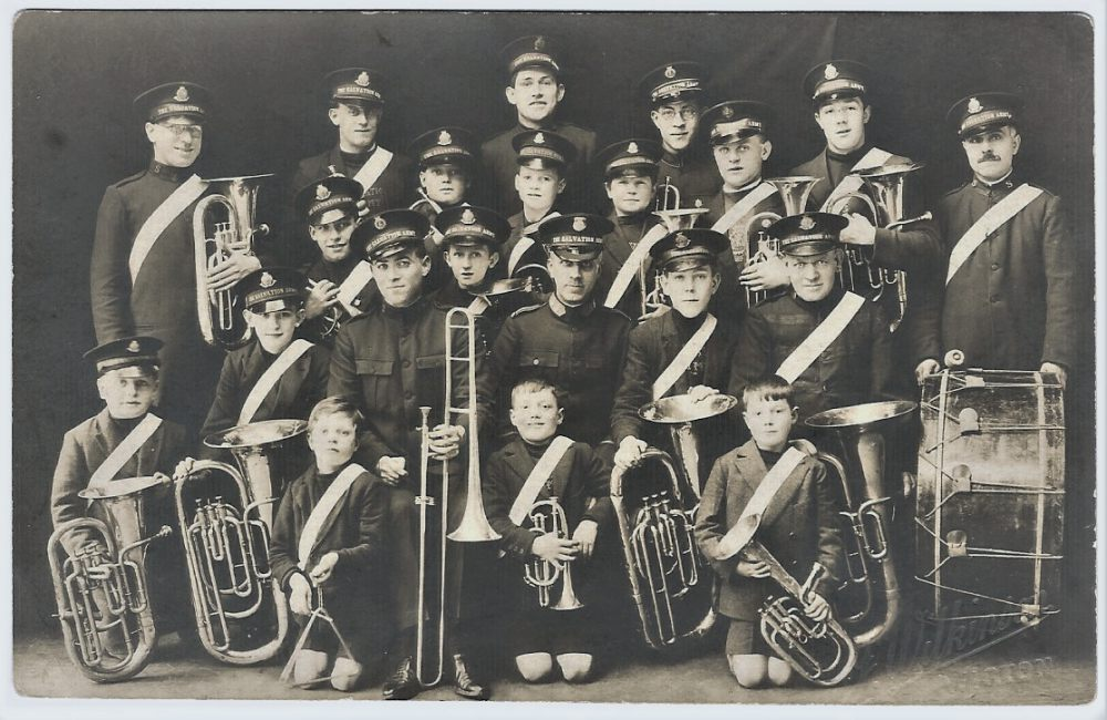 Wigton Salvation army band.
